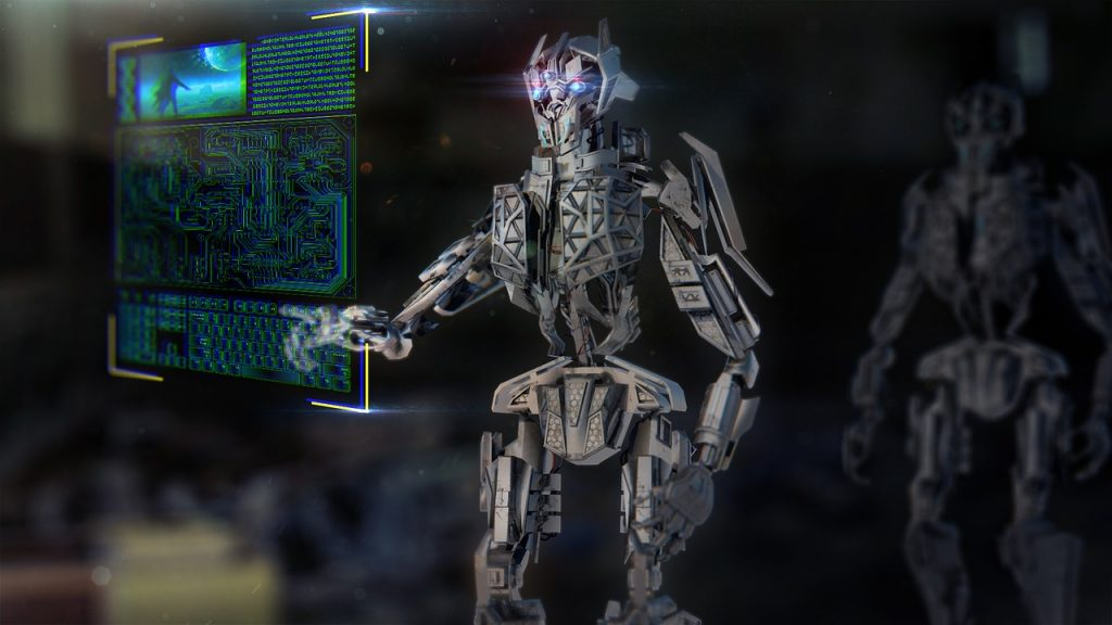 A robot is Mis-Selling AI Services