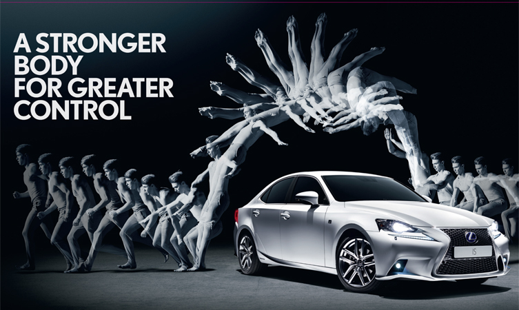 Advert for a car