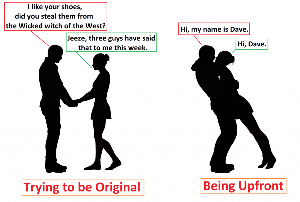 Dont try to be original