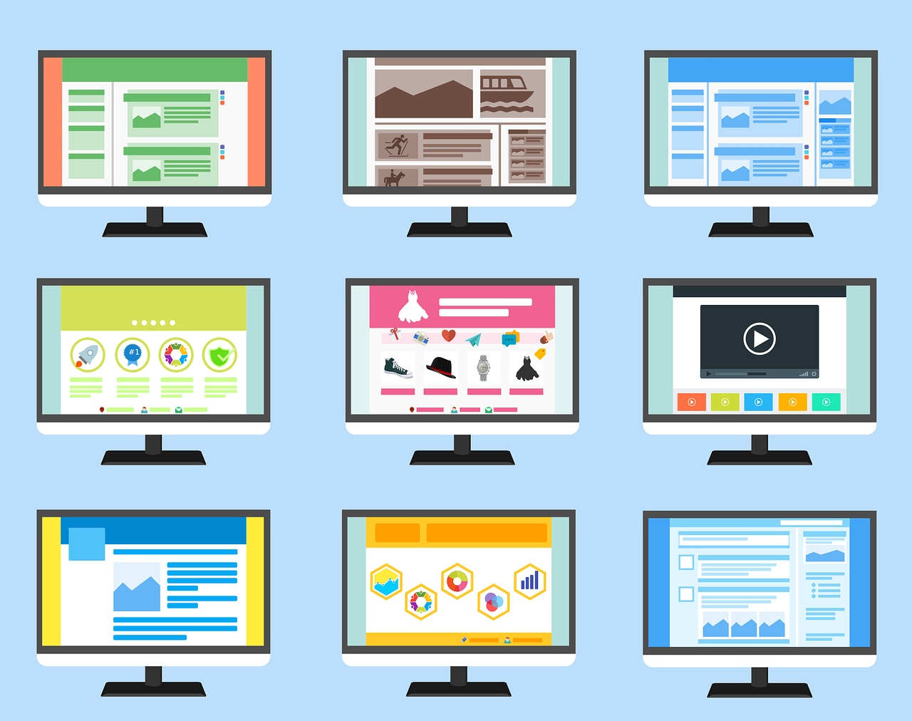 making the best of a Free wordpress template